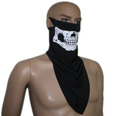 10pcs/lot ski mask Cool White Skull Full Skull Balaclava Warm Neck Windproof Protector airsoft Ghost masks-in Skullies & Beanies from Apparel & Accessories on Aliexpress.com