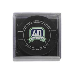 Vancouver Canucks official game puck