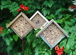 Insect hotel, bees house, insect hotel for butterflies,bee hotel, handmade wood | Home & Garden, Yard, Garden & Outdoor Living, Bird & Wildlife Accessories | eBay!
