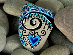 Out on a Limb / Painted Rock / Sandi Pike Foundas /Cape Cod