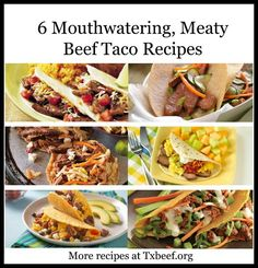 Beef Recipes for National Taco Day