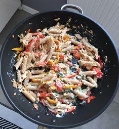Paella, Pasta Salad, Rice, Vegetables, Cooking, Ethnic Recipes, Fitness, Food, Crab Pasta Salad