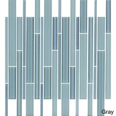 Emrytile New York 12x12.36-inch Sheet Wall Tiles (Set of 10) | Overstock.com Shopping - Big Discounts on Wall Tiles