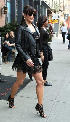 Paula Abdul leaving her hotel in New York - April 8, 2013 - Photo: Runway Manhattan/Bauer-Griffin