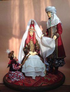 Folk Costume, Costumes, Doll Toys, Dolls, Kazakhstan, Doll Stuff, Samurai, Princess Zelda, Fictional Characters