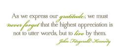 thanksgiving sayings jfk | ... quotes and sayings | Remodelaholic | Free Thanksgiving Printable