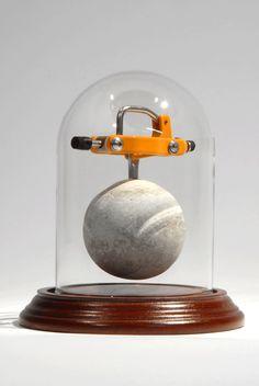 "|| ""Cavity Mechanism #11 w/ Glass Dome"" (2013) by Dan Grayber"