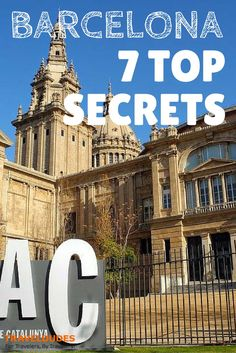 7 Top Secrets about Barcelona | some of the most interesting places in Barcelona are often not cited in typical travel guides and like many cities it has a few hidden hush-hush aspects that need to come out | Travel Dudes Social Travel Community http://www.traveldudes.org/travel-tips/7-top-secrets-about-barcelona/64359?utm_content=buffer9bcf3&utm_medium=social&utm_source=pinterest.com&utm_campaign=buffer