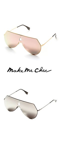 a4ed775cf6 Pink Lens Triangle Cutout Detail Sunglasses Make Me Chic
