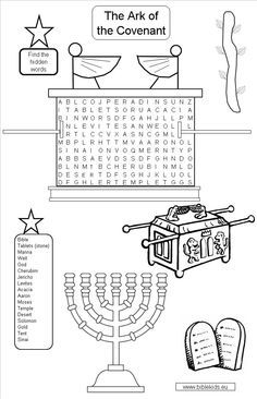 teaching kids about the ark of the covenant - Google Search