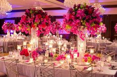 These colours! Tablescapes featuring vibrant blooms and glam details simply burst with life at @Four Seasons Hotel Westlake Village.