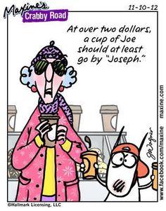 """A cuppa """"Joseph""""..."""