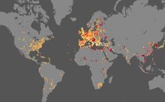 The planet's history of violence over 4,000 years in one simple map - Telegraph - there's a message in here somewhere about that thing we call civilization.