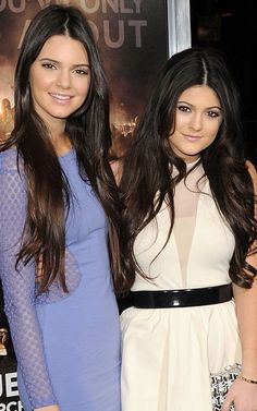 Loving Kendall and Kylie Jenner's patterned looks at the 2014 MuchMusic Video Awards. Description from pinterest.com. I searched for this on bing.com/images