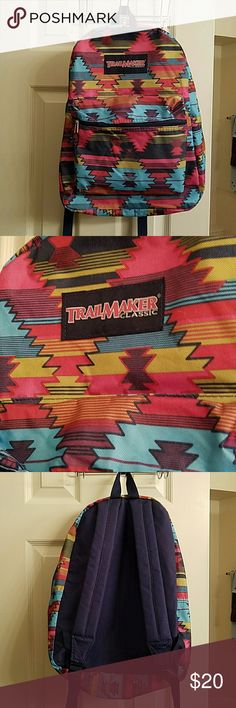 Trail Maker Classic backpack tribal pattern Trail Marker Classic backpack. Used a few times and has been in the closet since. Get it before someone else does! Trail Maker Classic Bags Backpacks