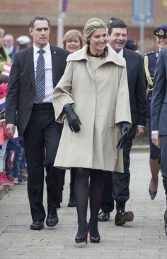 Queen Maxima opens the Money week 2015 at primary school OBS West in Capelle aan de IJssel, The Netherlands, 9 March 2015.