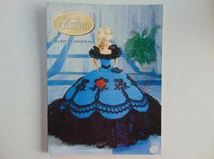 The Cotillion Collection Miss December Pattern Society Fashion Barbie Doll Crochet Pattern Annies Attic http://etsy.me/2pUB0Pi via @Etsy