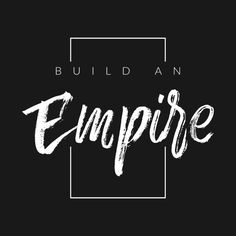 Check out this awesome 'Build+An+Empire' design on Hustle Quotes, Motivational Quotes, Inspirational Quotes, Boss Up Quotes, Life Quotes, Building An Empire Quotes, Empire Building, Positive Vibes, Positive Quotes