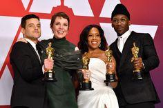 The Awardist: Historic wins change the gold standard at 2019 Oscars Academy Award Winners, Oscar Winners, Academy Awards, Regina King, Glenn Close, Freddie Mercury, Matthew Libatique, Black Stereotypes, Actress Amy Adams