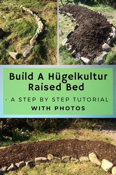 Garden Layout Building A Hgelkultur Raised Bed - A Step By Step Tutorial.Garden Layout Building A Hgelkultur Raised Bed - A Step By Step Tutorial Raised Bed Garden Layout, Raised Garden Beds, Raised Beds, Above Ground Garden, Gemüseanbau In Kübeln, Raised Vegetable Gardens, Vegetable Gardening, Starting A Garden, Container Gardening Vegetables