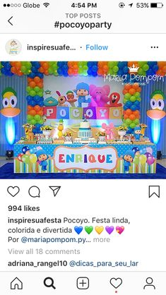 First Birthday Theme Boy, 2nd Birthday Party Themes, Ideas Para Fiestas, 1st Birthdays, Themed Birthday Parties, Ideas Aniversario, Colorful, Avenger Party, Mickey Mouse Clubhouse