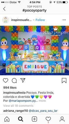 First Birthday Theme Boy, 2nd Birthday Party Themes, Ideas Para Fiestas, 1st Birthdays, Themed Birthday Parties, One Year Anniversary, Ideas Aniversario, 3 Year Olds, Colorful