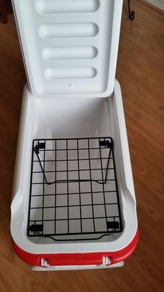 I used a locker divider and I put it in my cooler, so I can keep certain foods dry from the ice that melts.
