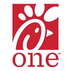 The more simplified, dynamic use of the Chick-fil-A logo.