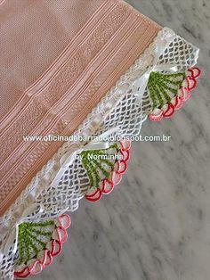 Croche - Barrando Pintinhos... | OFICINA DO BARRADO | Bloglovin'