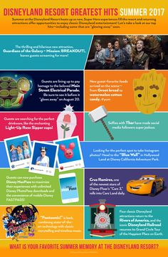 Summer may be winding down, but there is still so much to do at Disneyland Resort before the season ends. Take a look at the top ten hits this summer!
