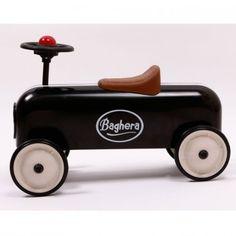 BAGHERA RACER BLACK PEDAL CAR