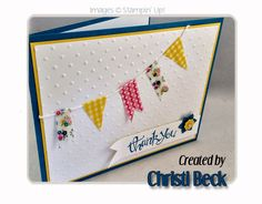 Christi Beck's  Tutorial with Washi Tape