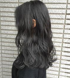 Two Color Hair, Ombre Hair Color, Midnight Blue Hair, Hair Designs, Hair Inspo, Cute Hairstyles, Dyed Hair, Curly Hair Styles, Hair Cuts