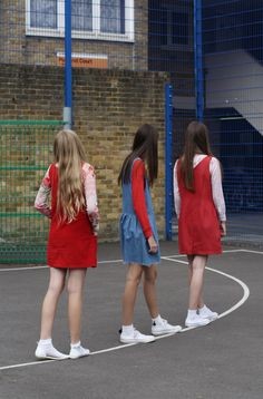 Raine, Noemi and Pia @playground