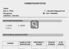 biodata format for fresher teacher job fresher resume format
