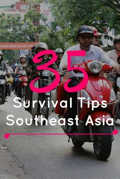Advice on travelling through Southeast Asia from a couple who spent a year travelling this beautiful part of the world. 35 Survival Tips for Southeast Asia - FreeYourMindTravel