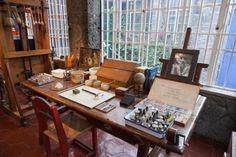 Frida Kahlo's studio in Casa Azul