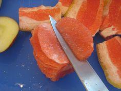 Cutting Grapefruit Sections | Good Cheap Eats