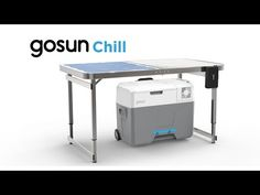 Portable Fridge that Eliminates Ice: GoSun Chill Fridge Cooler, Portable Fridge, Coolest Cooler, Solar Oven, Cooler Designs, Solar Charger, Digital Trends, Off The Grid, Happy Campers