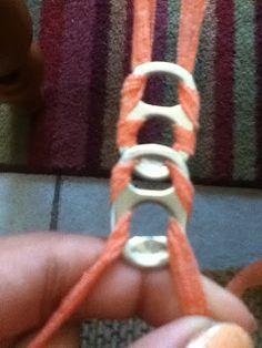 MY BLOG: DIY pop tab bracelet!!