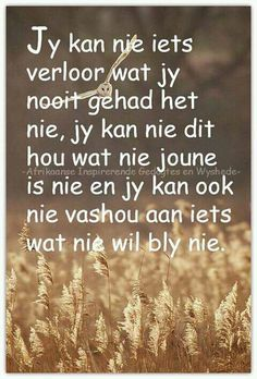 ♡ Afrikaanse Quotes, Happy Birthday Meme, Quotes Deep Feelings, Some Quotes, Positive Words, True Words, Friendship Quotes, Christian Quotes, Favorite Quotes