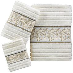 Heathrow Decorative Towels - jcpenney