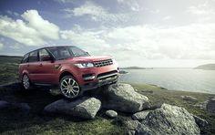 2014 Range Rover Sport | CGI, Photography & Retouching by Rich Morris, via Behance