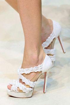 Waves Wedding Shoes / Scape da sposa ondulate