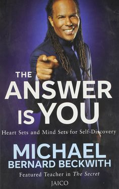 #TheAnswerIsYou is a #book by #MichaelBernardBeckwith. In the full-length book, #Beckwith explores in #depth these topics and more, including his #acclaimed #teachings on #lifevisioning, #prosperity, #abundance and living from the #overflow.