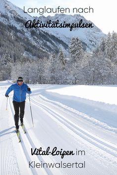 """Im Winter gibt es nach einem Gesundheitscheck die individuelle Empfehlung für das Langlaufen auf den Vital-Loipen des """"Walser Omgang"""". #kleinwalsertal #visitvorarlberg Cross Country Skiing, Winter Beauty, Old Things, Cold, Outdoor, Happy, Nature, Long Distance, Recovery"""