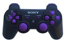 Playstation 3 Modded Controller Purple Out