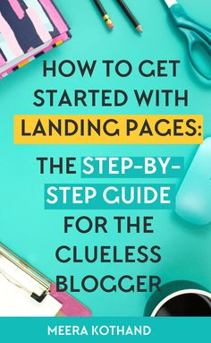 Does the thought of designing a simple landing page freak you out? In this post I give you examples and ideas of what goes into a high converting landing page. I show you why they are important and step-by-step how you can create your first. Need a checklist so that you'll avoid landing page mistakes, get it here.  via @meerakothand