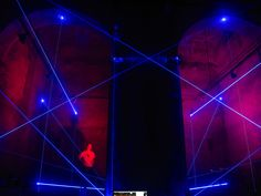 radial and blaus - audio-visual light structures by MID and playmodes