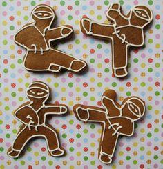Ninja Bread Men!! by Sugar Delights (Asya), via Flickr